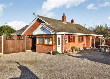 Thumbnail 4 bed detached bungalow for sale in Station Road, Lingwood, Norwich