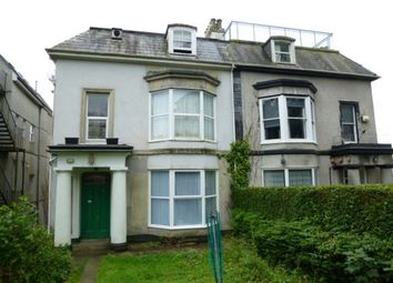 Thumbnail 1 bedroom flat to rent in Lonsdale Villas, Plymouth, Devon