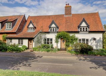 Thumbnail 4 bed detached house for sale in The Street, Great Hockham, Thetford