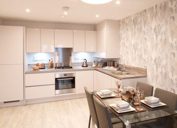 Thumbnail 1 bedroom flat for sale in Plot 14, Lewis House, Queensgate, Etps Road, Farnborough, Hampshire