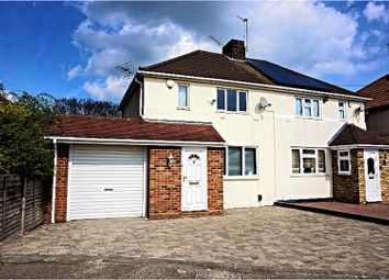 Thumbnail 3 bed semi-detached house for sale in Heaton Avenue, Romford
