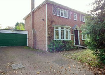 Thumbnail 4 bed detached house to rent in Victoria Hill Road, Fleet