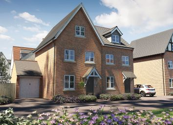 "Thumbnail 3 bed property for sale in ""The Holnicote"" at Winchester Road, Boorley Green, Botley"