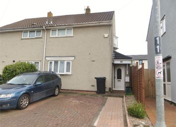 Thumbnail 2 bed semi-detached house for sale in Totshill Drive, Hartcliffe, Bristol