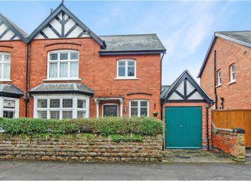 Thumbnail 4 bedroom semi-detached house for sale in Carnarvon Road, West Bridgford