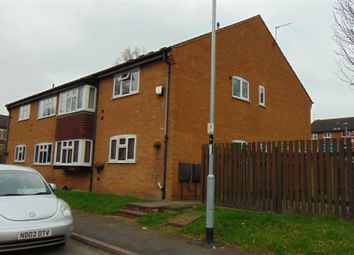 Thumbnail 2 bed maisonette to rent in Malham Way, Oadby, Leicester