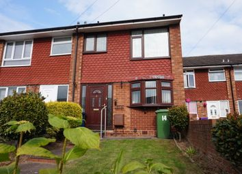 Thumbnail 3 bed terraced house for sale in Eliot Close, Tamworth