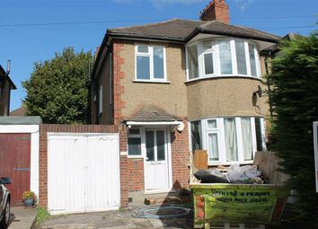 Thumbnail 3 bed semi-detached house to rent in Village Way, Pinner