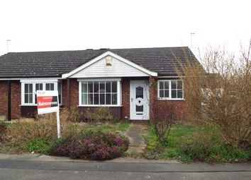 Thumbnail 2 bed semi-detached bungalow to rent in Roman Wharf, Lincoln