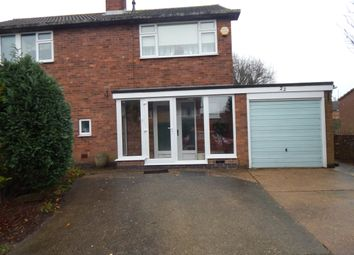 Thumbnail 4 bed semi-detached house to rent in Woodlands, Winthorpe