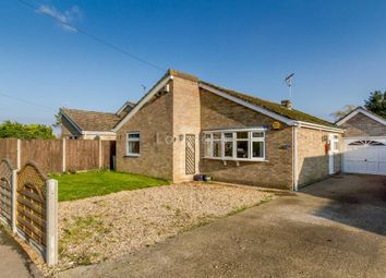 Thumbnail 3 bed detached bungalow for sale in Vicarage Close, Foulden, Thetford
