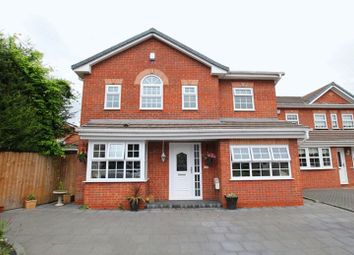 Thumbnail 4 bedroom detached house for sale in Hazelwood Grove, Halewood, Liverpool