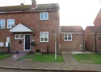 Thumbnail 2 bed semi-detached house for sale in Lincoln Road, Upwood, Huntingdon