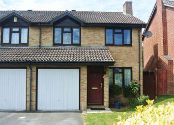 Thumbnail 3 bed semi-detached house for sale in Longstock Close, Chineham, Basingstoke