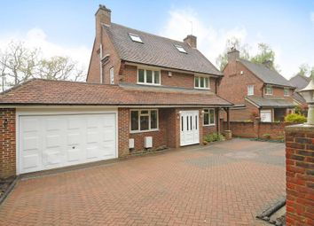 Thumbnail 4 bed detached house to rent in Christchurch Road, Virginia Water