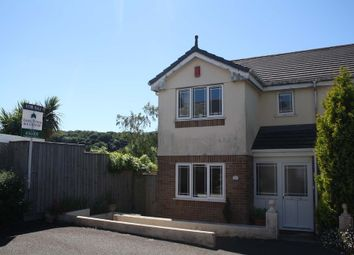 Thumbnail 3 bedroom semi-detached house for sale in Goosewell Terrace, Goosewell, Plymouth