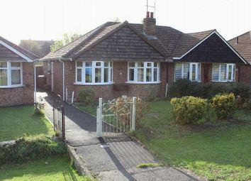 Thumbnail 2 bedroom semi-detached bungalow for sale in Harlestone Road, Duston, Northampton