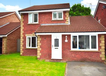 Thumbnail 3 bed detached house for sale in Bakewell Close, Great Sutton, Ellesmere Port