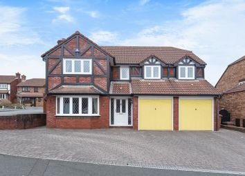 Thumbnail 5 bed detached house for sale in Standarhay Close, Sherford, Plymouth