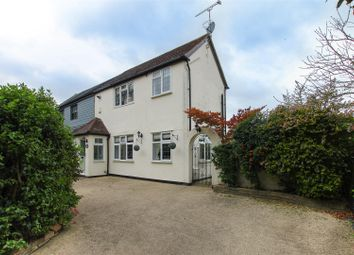 Blackmore Road, Blackmore, Ingatestone CM4. 3 bed semi-detached house