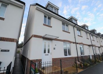 Thumbnail 3 bed end terrace house for sale in Allotment Approach, Tiverton