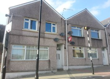 Thumbnail 1 bed flat to rent in High Street, Llanbradach, Caerphilly