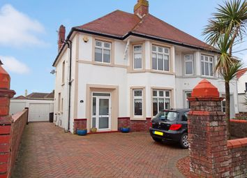 Thumbnail 3 bed semi-detached house for sale in Lougher Gardens, Porthcawl