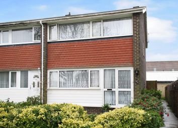 Thumbnail 3 bed property to rent in Bignor Close, Rustington, Littlehampton