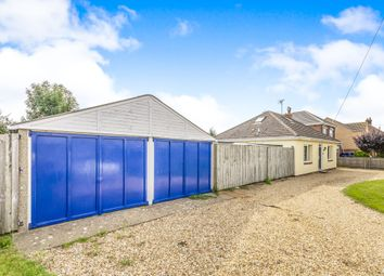 Thumbnail 2 bed detached bungalow for sale in High Road (Inc Plot), Weston, Spalding