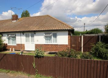 Thumbnail 2 bed terraced bungalow for sale in Leigh Beck Road, Canvey Island