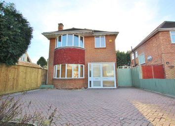 Thumbnail 3 bedroom detached house for sale in Castle Lane West, Bournemouth