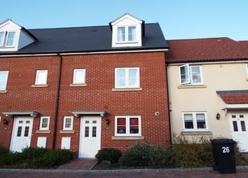 Thumbnail 4 bedroom town house to rent in Abbeyfields, Bury St. Edmunds