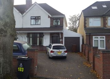 Thumbnail 4 bed semi-detached house to rent in Princess Avenue, Walsall, West Midlands