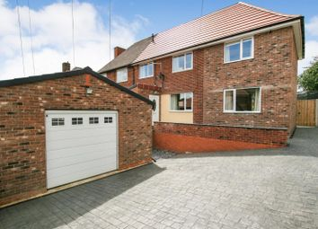 Thumbnail 3 bed semi-detached house for sale in Sheffield Road Unstone, Dronfield, Derbyshire
