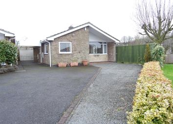 Thumbnail 3 bed detached bungalow for sale in Holcombe Close, Whitwick, Leicestershire