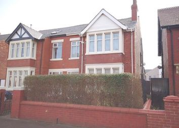 Thumbnail 3 bedroom semi-detached house for sale in Horncliffe Road, Blackpool