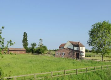 Thumbnail 4 bed equestrian property for sale in Trader Bank, Sibsey - PE22, Boston - Lincolnshire,