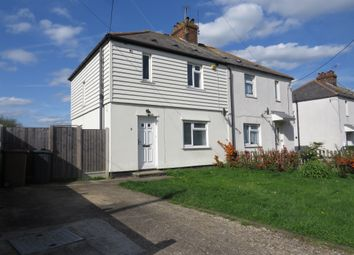 Thumbnail 3 bedroom semi-detached house for sale in Rectory Road, Writtle, Chelmsford