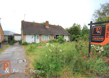 Thumbnail 2 bed semi-detached bungalow for sale in Bulmer Road, Sudbury