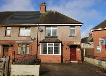 Thumbnail 2 bed semi-detached house for sale in Haregate Road, Leek