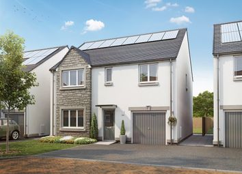 "Thumbnail 4 bed detached house for sale in ""Charles Church"" at Burdiehouse Road, Edinburgh"