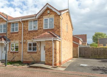 Thumbnail 2 bed semi-detached house for sale in Lockyer Close, York, North Yorkshire