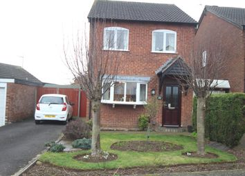 Thumbnail 3 bedroom detached house for sale in Ashleigh Gardens, Barwell, Leicester
