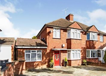 Thumbnail 3 bed semi-detached house for sale in Crossways, South Croydon, Surrey