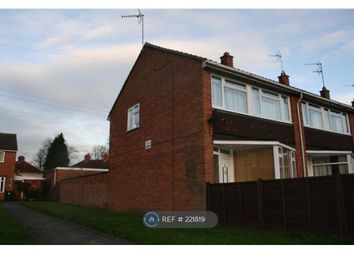 Thumbnail 3 bed end terrace house to rent in Percy Road, Warwick