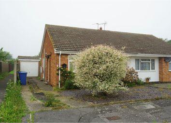 Thumbnail 2 bed semi-detached bungalow for sale in Gordon Close, Sittingbourne
