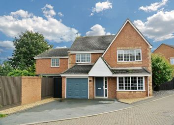 Thumbnail 4 bedroom detached house for sale in Furnival Close, Fleckney, Leicester