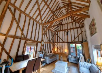Thumbnail 2 bed barn conversion for sale in Ermine Court, Church Street, Buntingford