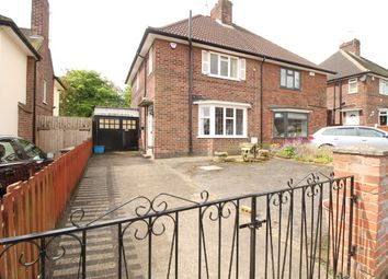 Thumbnail 3 bed semi-detached house for sale in Long Hill Rise, Hucknall, Nottingham