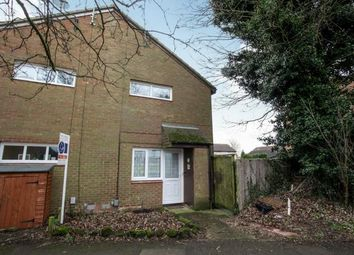Thumbnail 1 bed terraced house for sale in Cumbria Close, Houghton Regis, Dunstable, Bedfordshrie